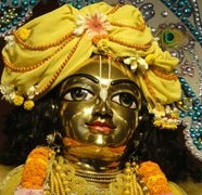 Complete The Face of Chaitanya Mahaprabhu