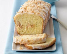 Lemon coconut bread