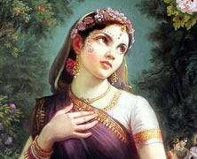 Complete The Face of Radharani