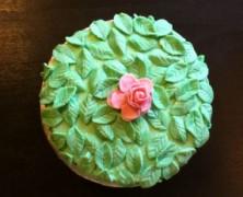 Tulsi Apple Cake