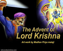 Advent Of Lord Krishna Comics