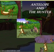 Antelope And The Hunter