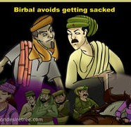 Birbal Avoids Getting Sacked