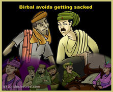 Birbal Avoids Getting Sacked