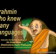 Brahmin Knew Many Language