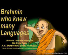 Brahmin Knew Many Language