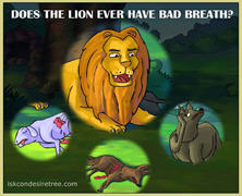 Does The Lion Ever Have Bad Breath