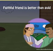 Faithful Friend Is Better Than Gold
