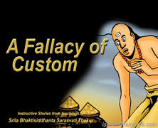 Fallacy Of Custom