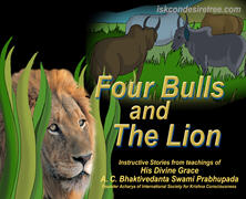 Four Bulls And The Lion