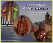 Gopal defeats the Digvijaya pandit