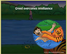Greed Overcomes Intelligence