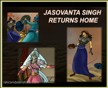Jasovanta Singh Returns Home