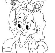 Krishna Hanging