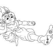Krishna Kicking