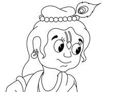 Krishna Playing with Pichakari