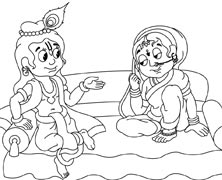 Krishna and Radha Together