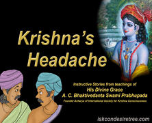 Krishna Having Headache