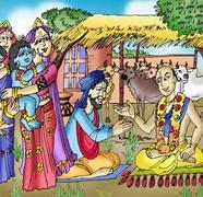 Krishna's Childhood Pastimes 01 Comics