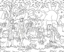 Colouring Sheet 04