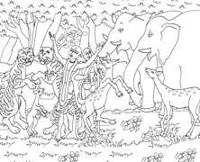Colouring Sheet 10