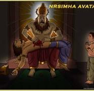 Nrsimha Avatara Comics