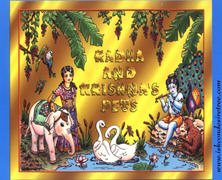 Radha And Krishna Pets Activity Book