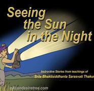 Seeing Sun In Night