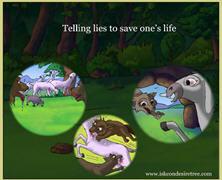 Telling Lies To Save Life