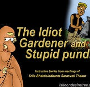 The Idiot Gardener And The Stupid Pundit