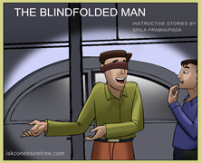 The Blindfolded Man