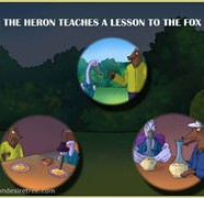 The Heron Teaches A Lesson To The Fox