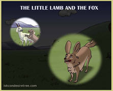 The Little Lamb Ad The Fox