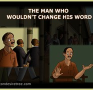The Man Who Would Not Change His Word