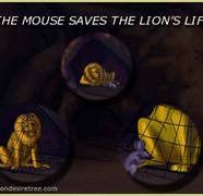 The Mouse Saves The Lions Life