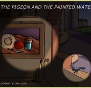 The Pigeon And The Painted Water