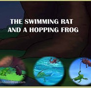 The Swimming Rat And A Hopping Frog