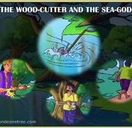 The Wood Cutter And The Sea God