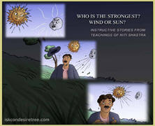 Who Is The Strongest – Wind Or Sun
