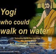 Yogi Who Could Walk On Water