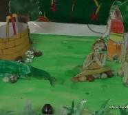 The story of King Nrga ( Lizard)