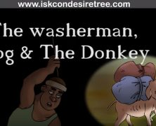 The washerman Dog and the Donkey