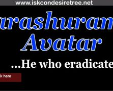 Parashurama Avatar…He who eradicated evil