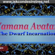 Vamana Avatar…The Dwarf Incarnation