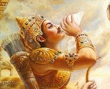 Arjuna Punishes Ashwathama