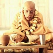 Honouring Prasadam