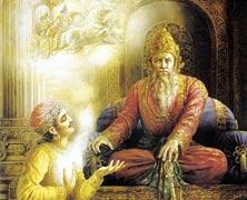 Vidura and Dhritarashtra