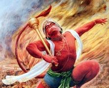 Complete The Face Hanuman