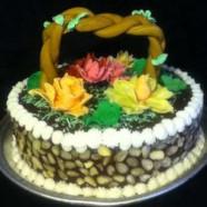 Gopi Bouquet Almond Apricot Cake