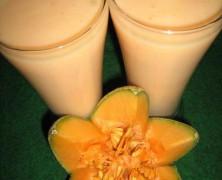 Musk Melon Milk Shake